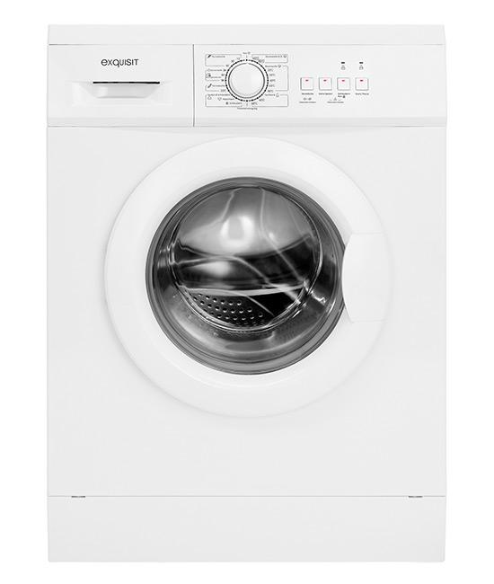 Exquisit WA6010-3 Waschmaschine Frontlader Weiss