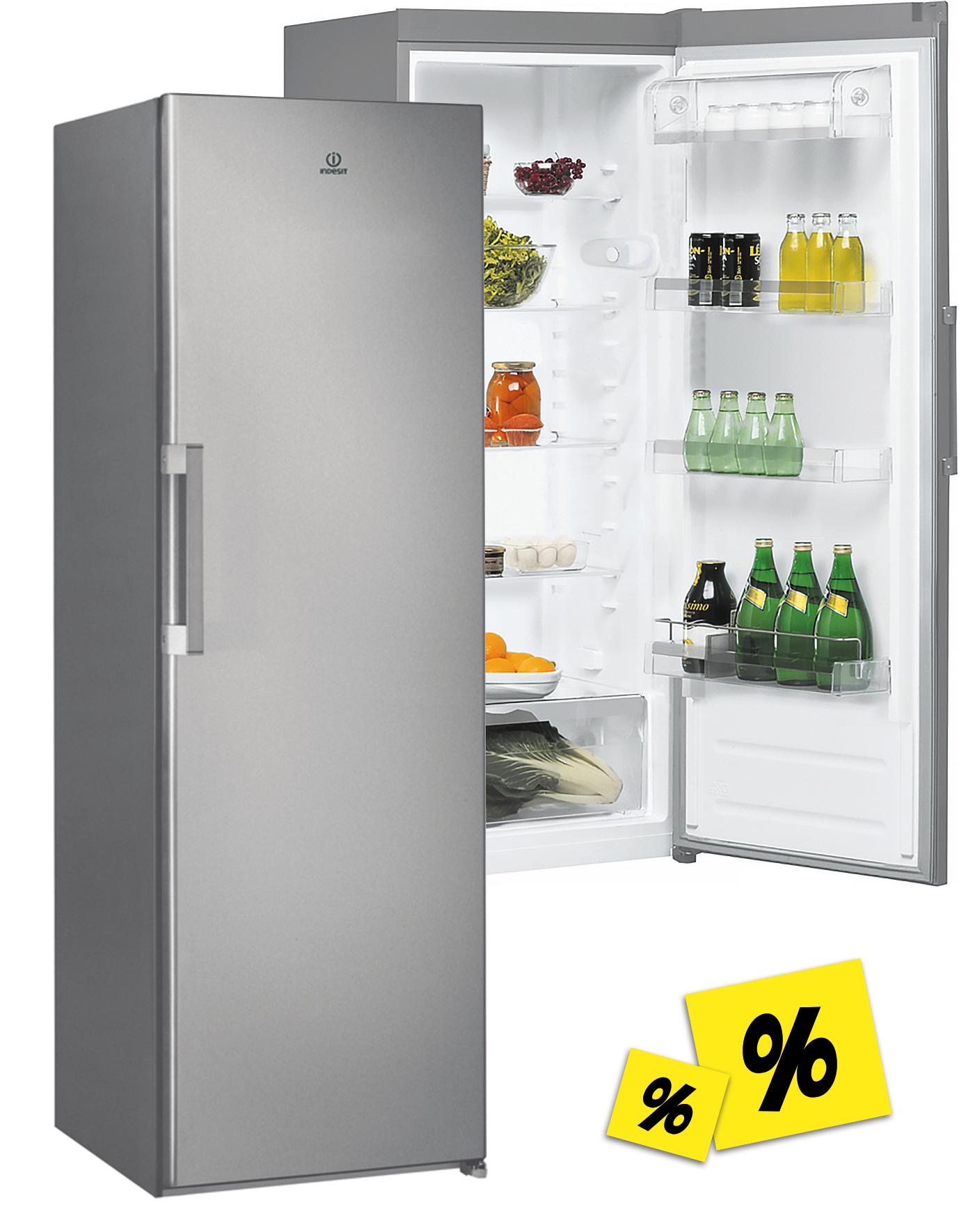 Indesit SI61S Standkühlschrank Inox