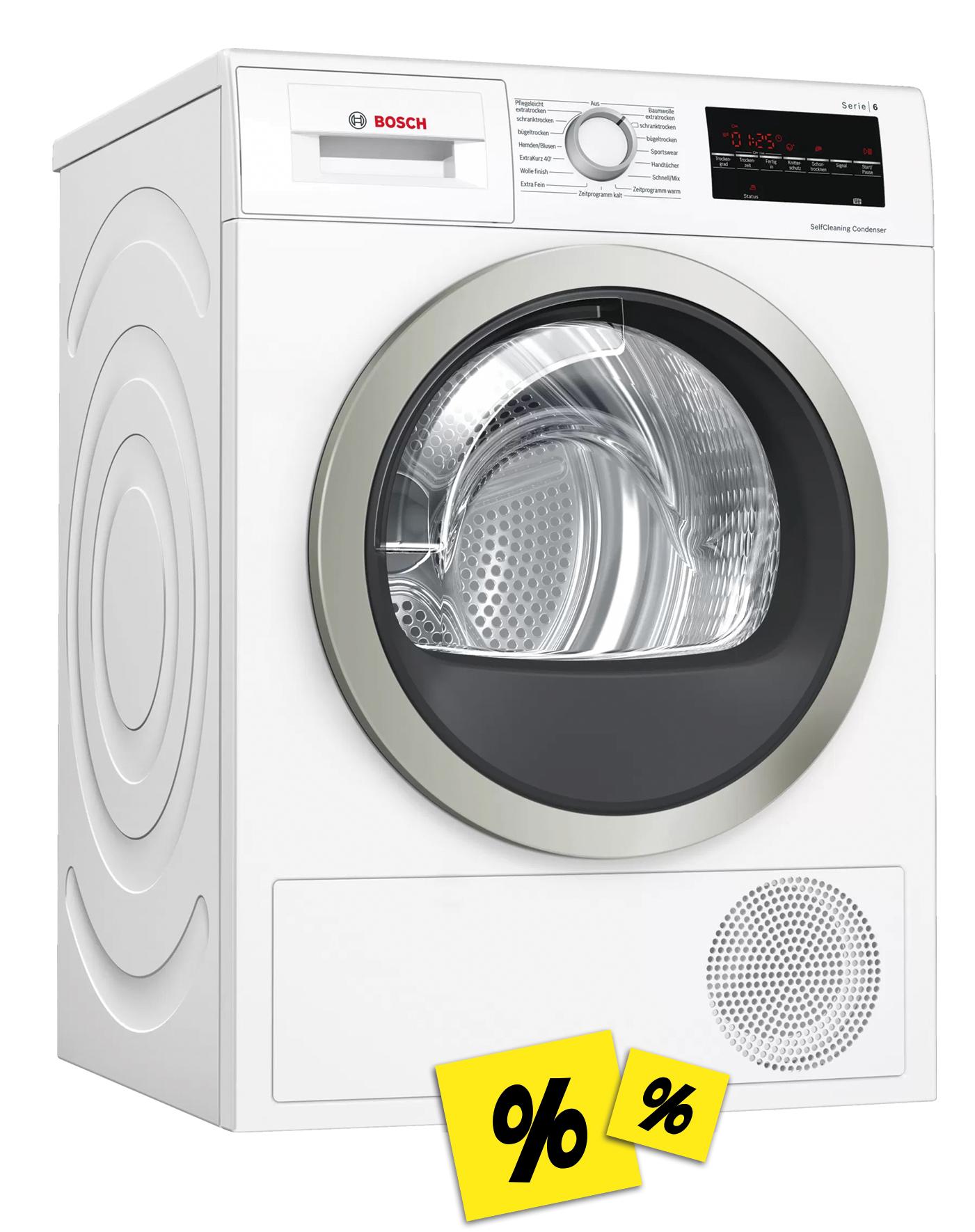 Bosch WTW85400 Wärmepumpentrockner