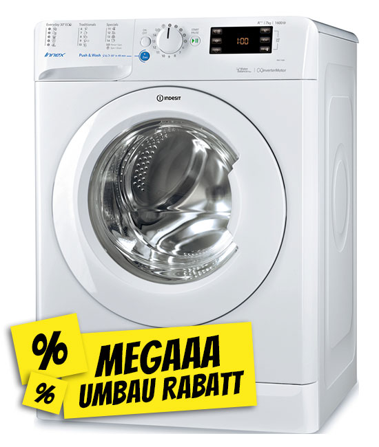 Indesit BWE71683X-W-EU-Waschmaschine