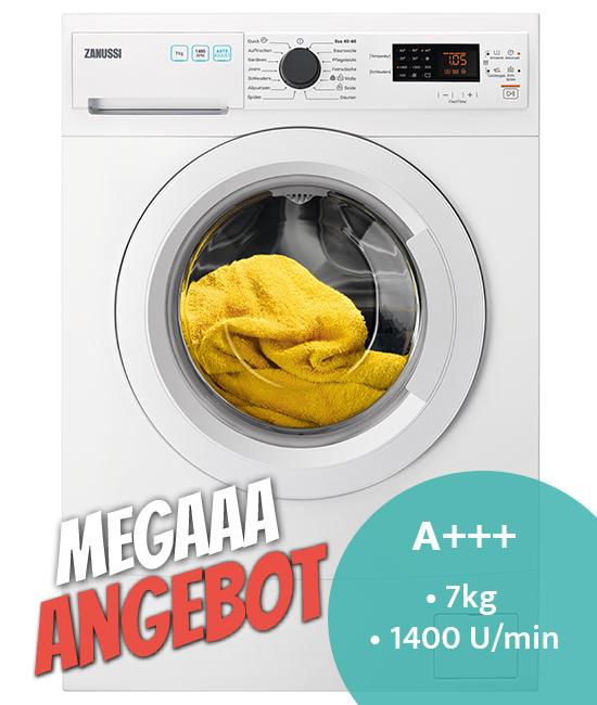 Zanussi ZWS7410WF Waschmaschine MegaaaAngebot
