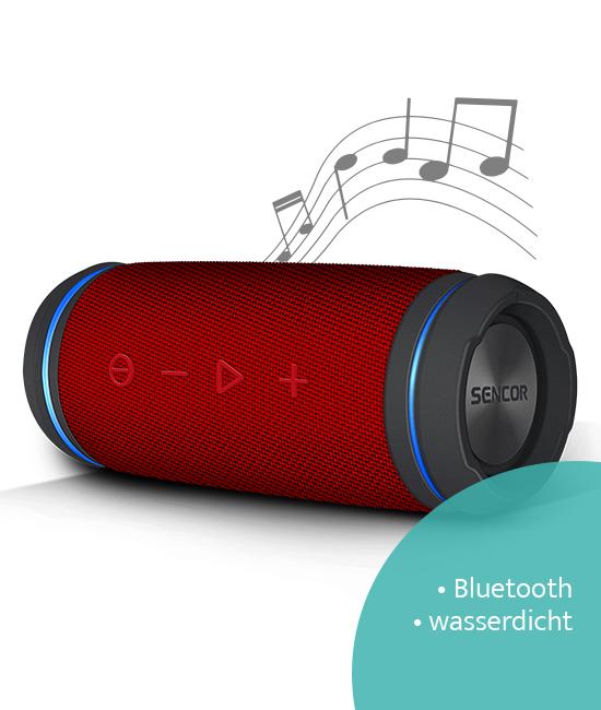 Sencor SSS6100NRD Bluetooth-Lautsprecher