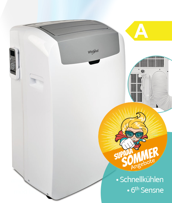 Whirlpool PACW29COL Klimagerät Sommer-Angebt