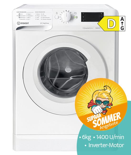 Indesit MTWE61483EWDE Waschmaschine SommerAngebot