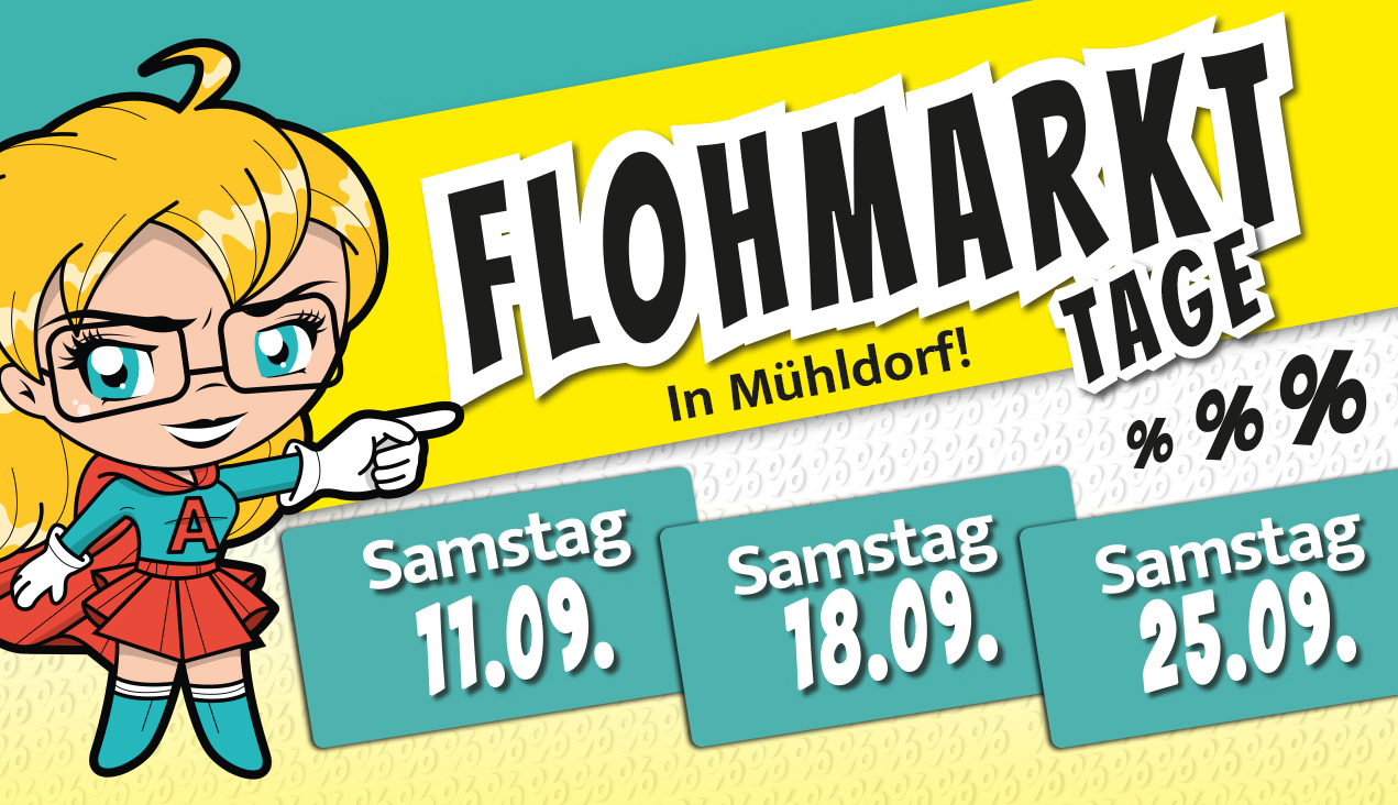 A-Markt Flohmarkt-Tage