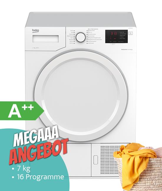 Beko DPS 7510 W2 Wärmepumpentrockner MegaaaAngebot