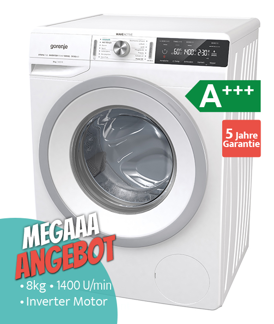 Gorenje W99A844P Waschmaschine Megaaa Angebot